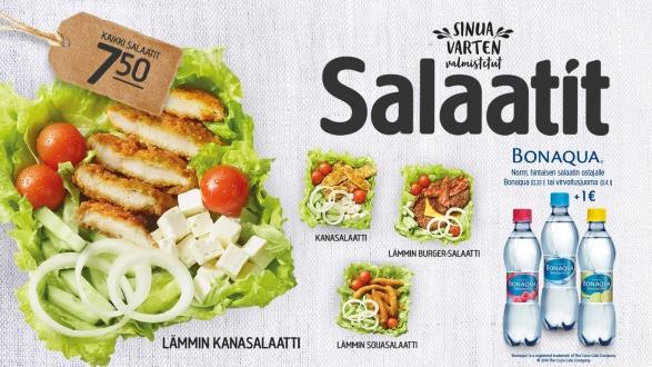 Hesburger salaatit